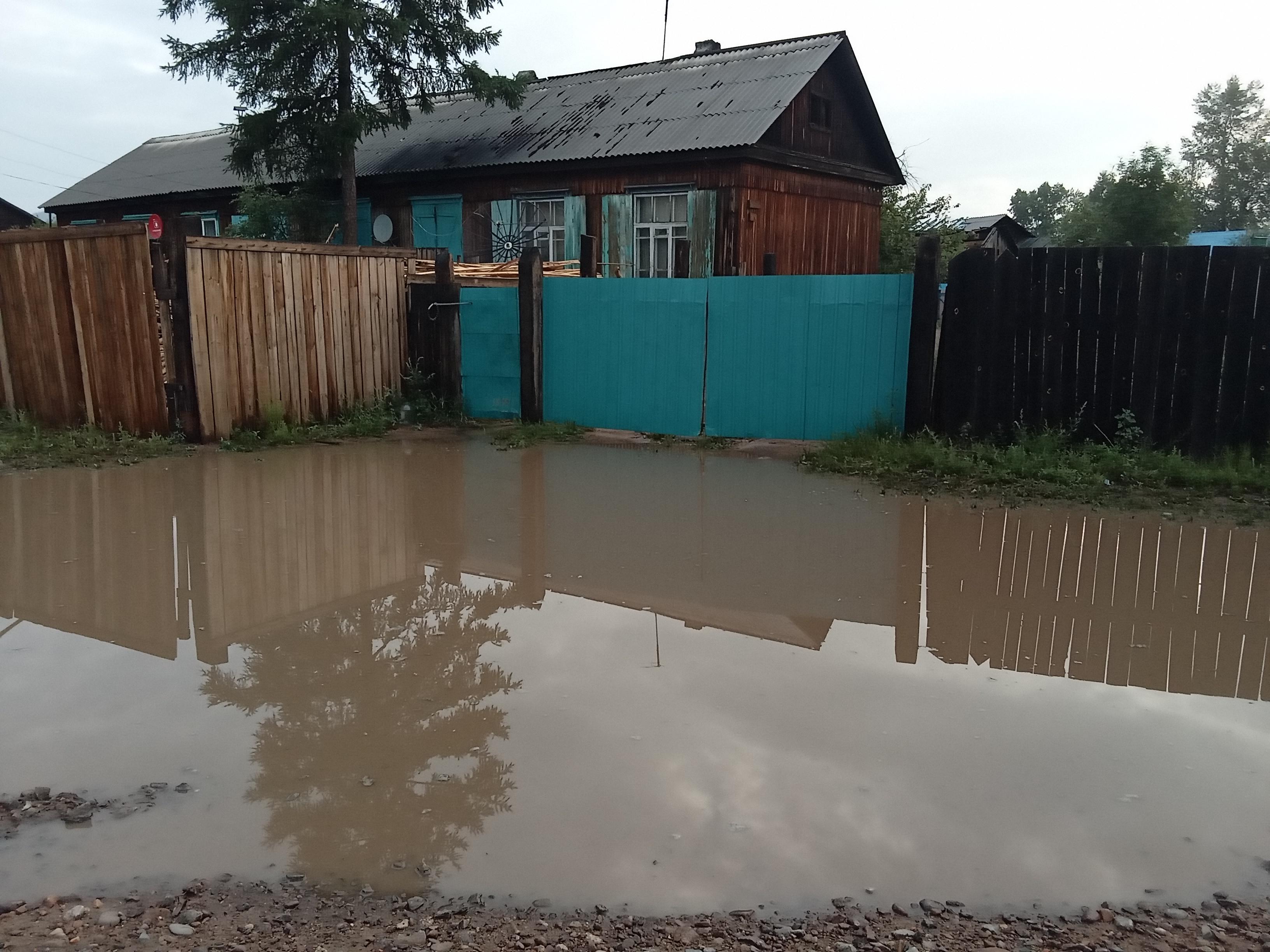 Жители Новопавловки пожаловались на постоянные подтопления из-за благоустройства поселка