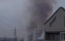 Пожар в Смоленке, Заречном и на КСК