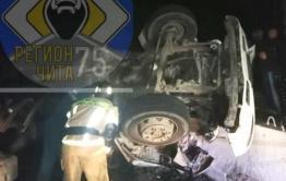Два человека погибли и один пострадал в ДТП у Новокручининска в Забайкалье