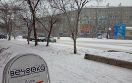 Зимняя сказка: Читу вновь завалило снегом.