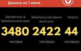 Коронавирус в Забайкалье: 39 новых случаев за сутки, более 90 выписаны