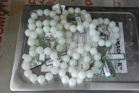 Нефритовые браслеты в вагонах с лесом обнаружили таможенники в Забайкалье