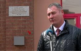 Вечорка ТВ: Открытие мемориальной доски на здании бывшего эвакогоспиталя