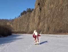 Дед Мороз едет в Читу через весь Забайкальский край
