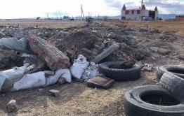 Читинцы навалили 10-15 КАМАЗов мусора недалеко от ипподрома