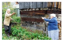 Жительница Акши просит соседей вернуть ей часть картофельного поля