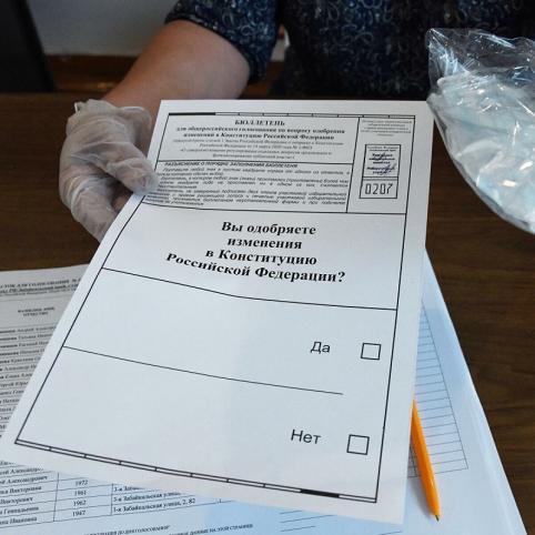 В Забайкалье почти 75% избирателей проголосовали за поправки в Конституцию