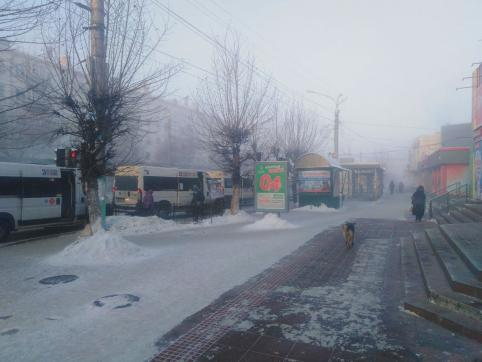 В Забайкальский край нагрянул мороз