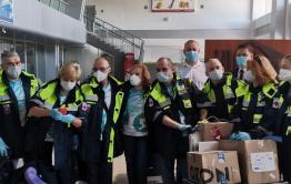 Новая бригада врачей прибыла из Москвы в Читу, чтоб сменить коллег, отработавших в Забайкалье две недели