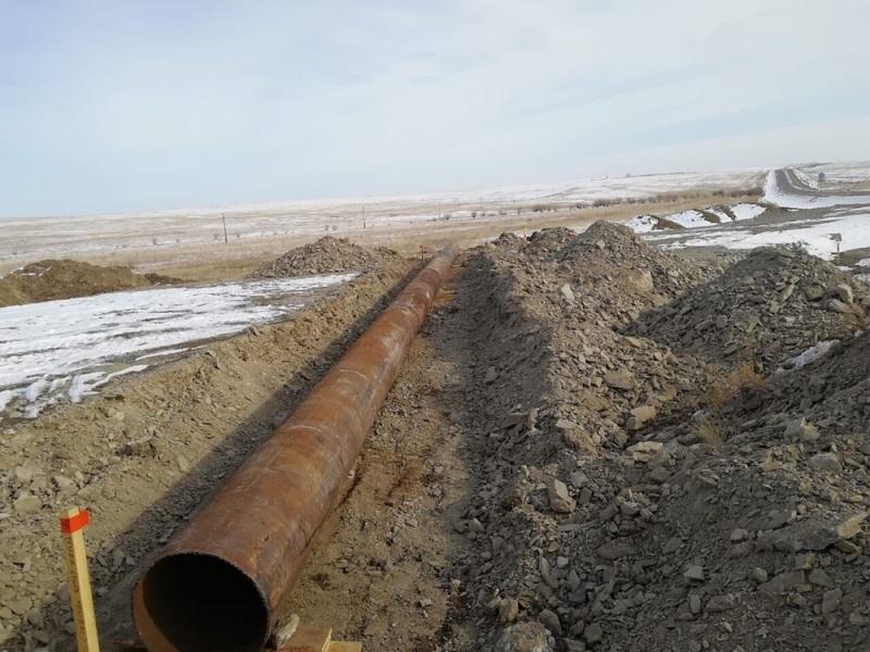 Забайкальцы украли 25-метровую трубу весом в две тонны и сдали ее на металл
