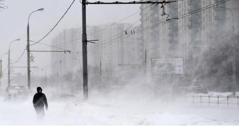 Усиление ветра и метель ожидается 20 ноября в Забайкалье