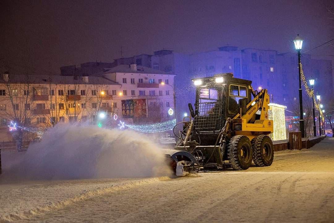 Сильный снег ожидается в Забайкалье 25 января