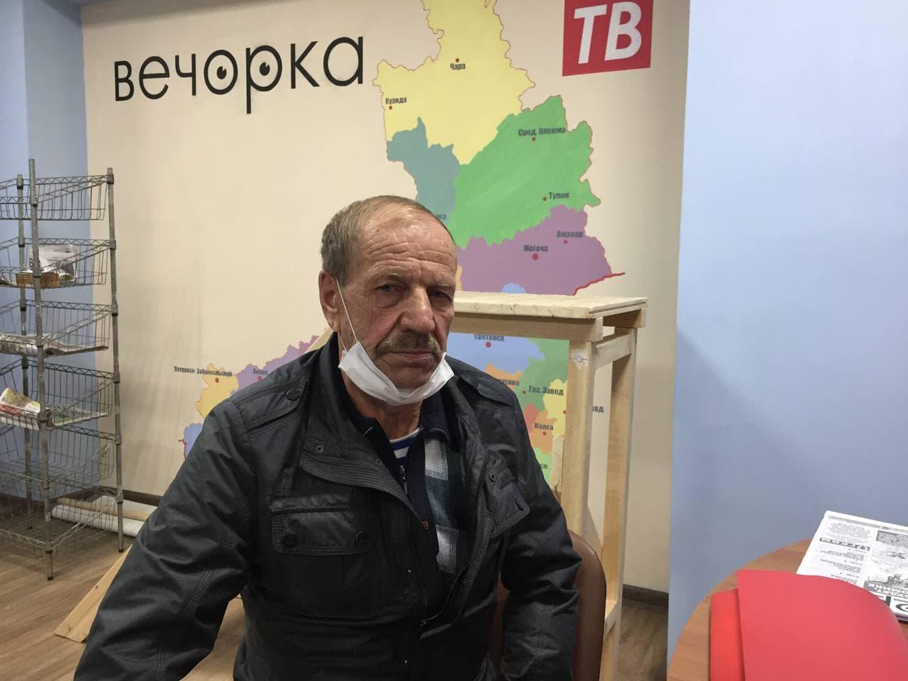 «Вечорка ЦУР»: Мне угрожает Сбербанк, — пенсионер из Засопки