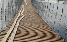 Новый мост в селе Кайдалово через месяц после открытия закрыли на ремонт