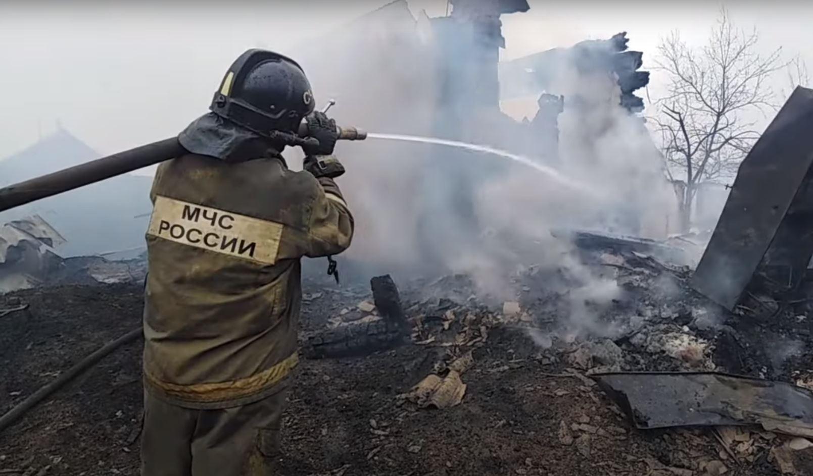 Перекинувшийся с туалета огонь чуть не сжег детский садв Забайкалье