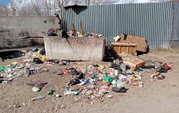 Бывший военный городок Ясная превращается в помойку