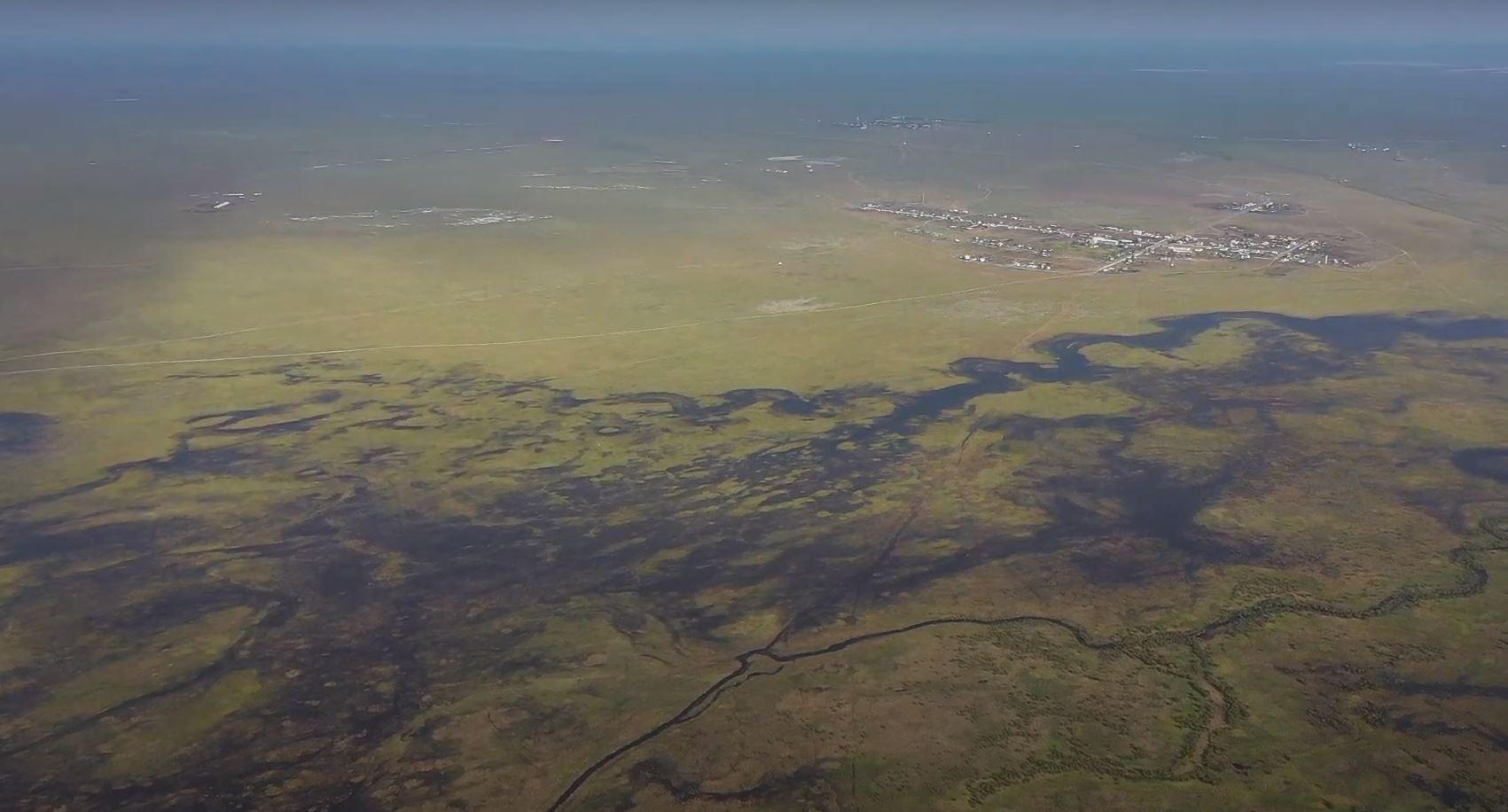 Торейские озера в Забайкалье начали заполняться водой. Видео