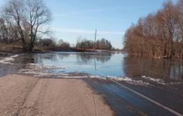 Режим ЧС ввели в Мензе из-за затопленной дороги к селу