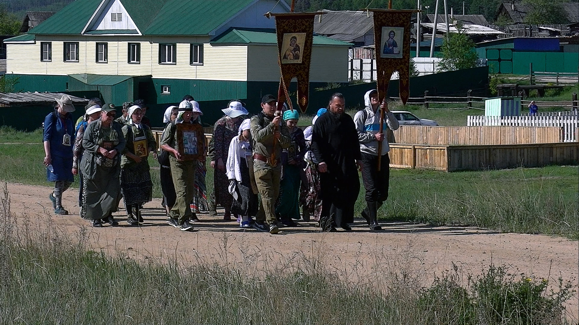 Вечорка ТВ: Забайкальские православные идут Крестным ходом к озеру Иргень