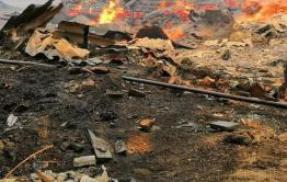 Стало известно о пострадавших от пожара сел в Алек-Заводском районе