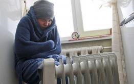 Читинка замерзает в своей квартире
