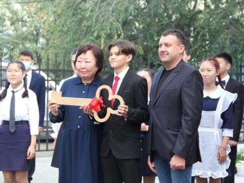 В Агинском открылся новый корпус школы № 2 на 255 мест