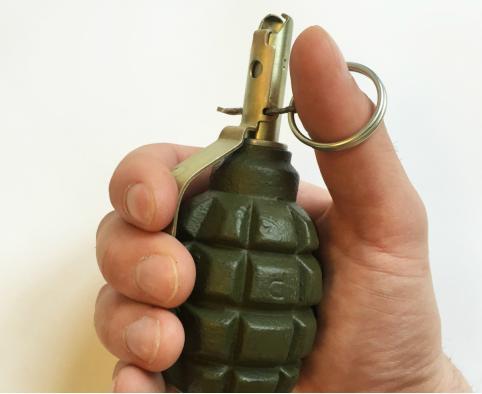 Боевую гранату нашли в гаражном кооперативе в Чите