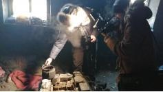 Так жили #детиподземелья обнаруженные сегодня, 24 января, в заброшенном здании на окраине Читы