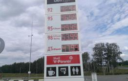 В Борзе бензин марки АИ – 92 стоит 47 руб. 90 коп.