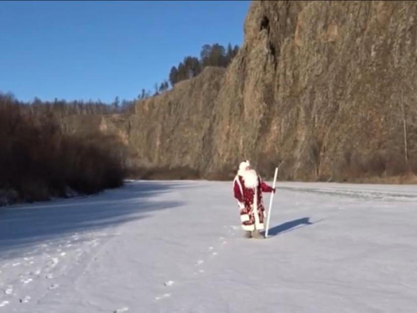 Дед Мороз едет в Читу на главную елку Забайкалья