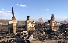 Пострадавшим при пожаре забайкальцам необходима продуктовая помощь