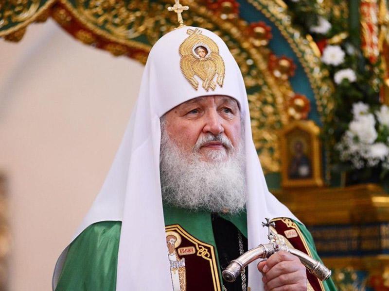 Патриарх Кирилл поздравил Осипова с победой на выборах губернатора Забайкалья