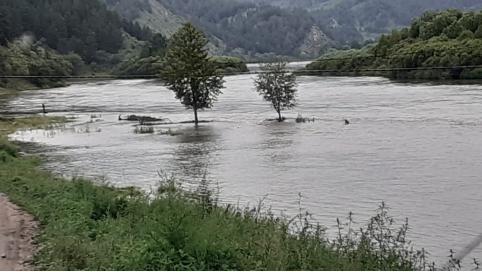 В Забайкалье из-за дождей подтоплены участки на пяти региональных дорогах