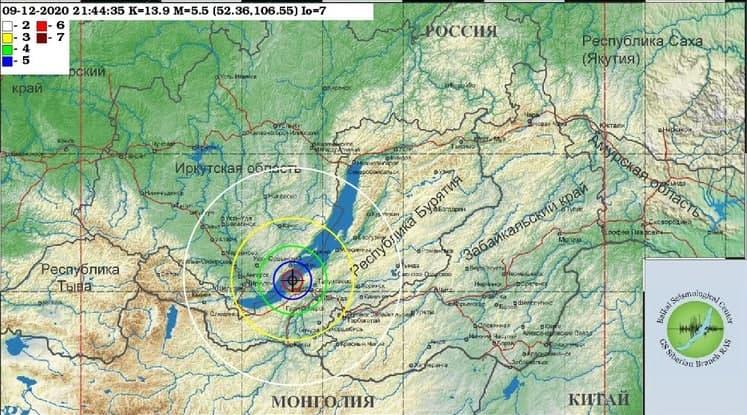 Землетрясение в Бурятии дошло до 23 населенных пунктов Забайкалья