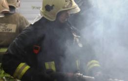 От взрыва баллона с газом на КСК пострадал мужчина