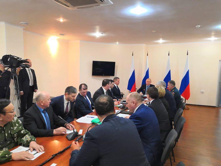 В Кремле прошло совещание по пожарам в Забайкалье