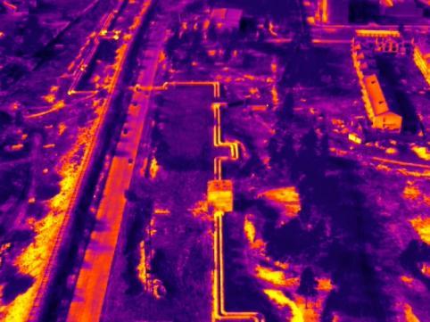 Энергетики провели аэровидеосъёмку теплосетей в Чите