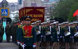 Вечорка ТВ: В Чите прошел военный парад в честь 75 ой годовщины Великой Победы
