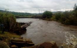 Дамбу в Тунгокочене, пострадавшую от наводнения 2018-го, отремонтируют в августе
