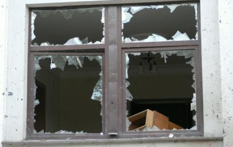 Взрывы, возможно, повредили дома в селе Новоборзинское