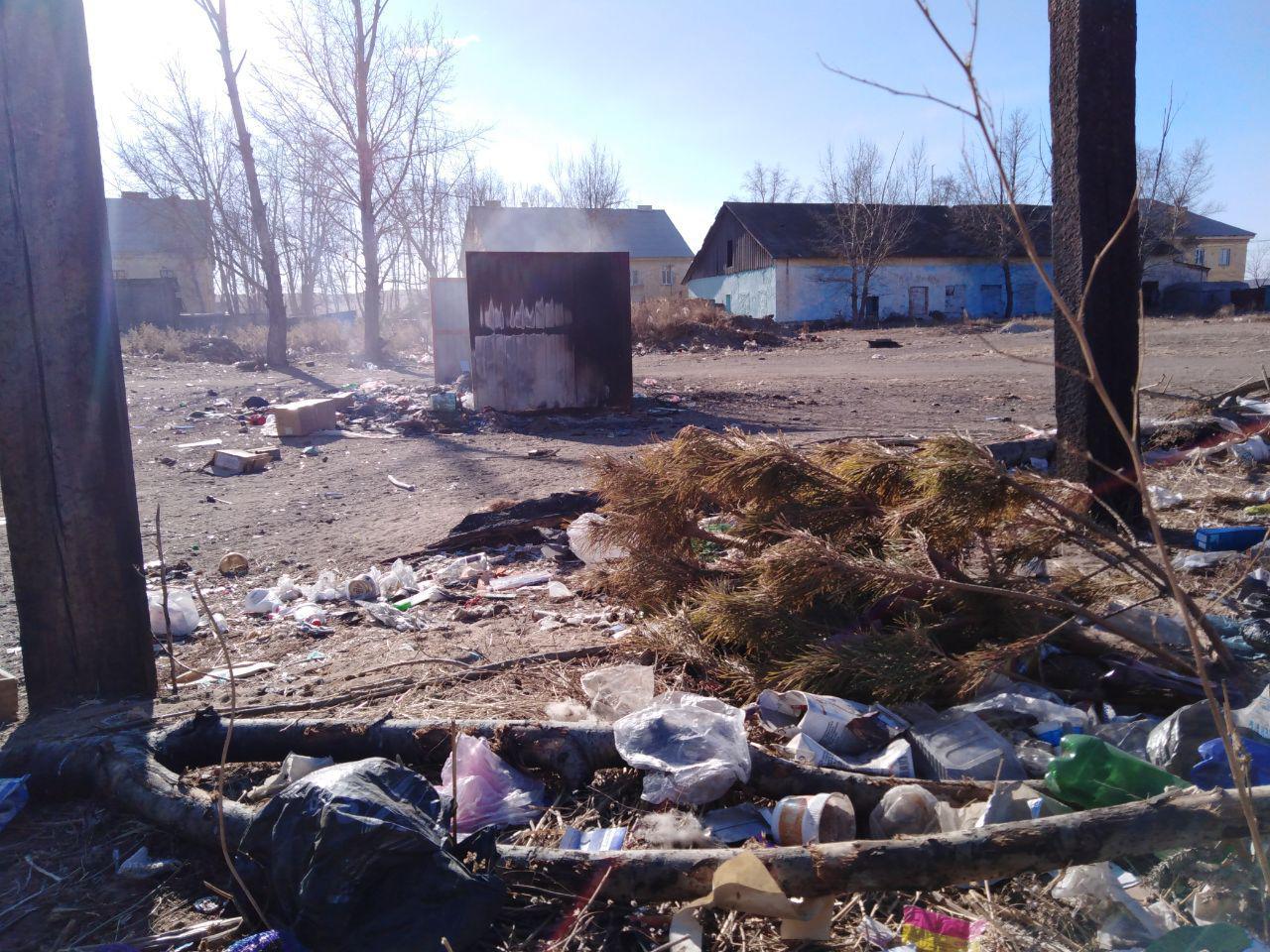После материала «Вечорки» о мусоре борзинские коммунальщики попросили жителей жаловаться напрямую