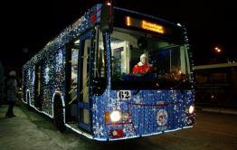 Время движения троллейбусов увеличат в новогоднюю ночь в Чите