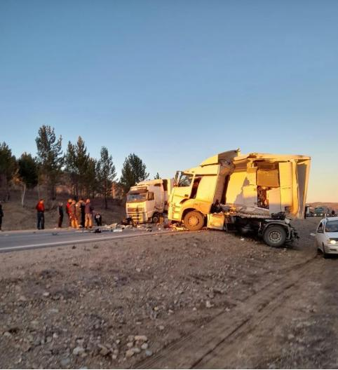 На федеральной трассе Чита-Хабаровск произошло крупное ДТП