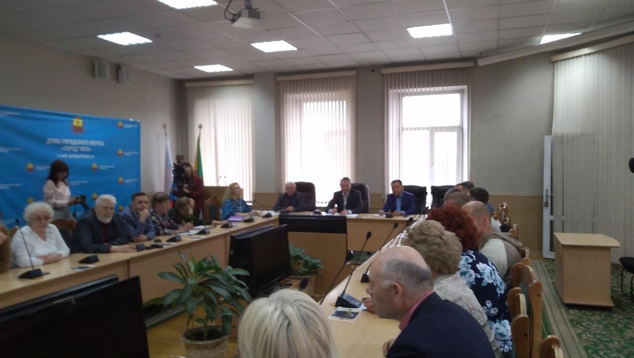 Новый руководитель администрации Читы Сапожников встретился с общественностью города