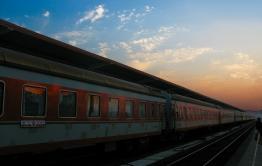 Пассажирский поезд остановили из-за пожаров в Забайкалье