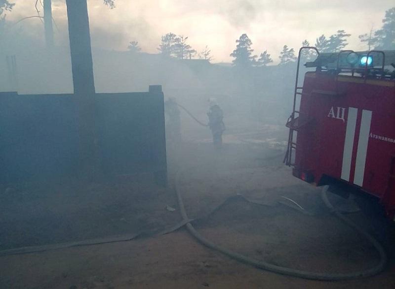 Вчерашний пожар в Атамановке уничтожил не дом, а дачу