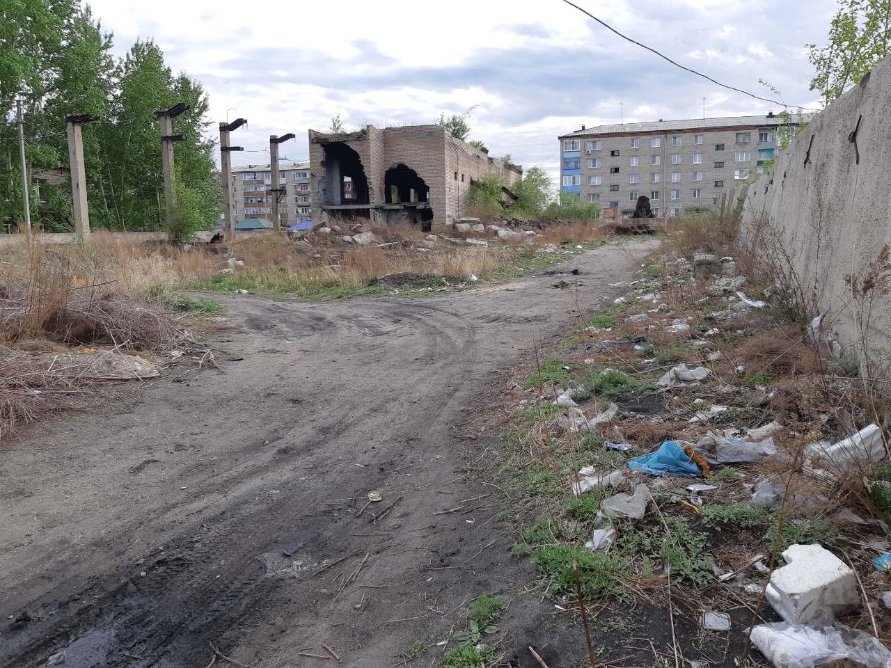Центр города Шилка. 4 июня 2019 г.