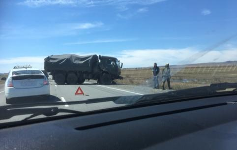 Водитель Camry погиб после столкновения с КамАЗом