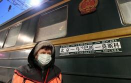 Последний поезд сообщением «Пекин-Москва» прибыл в Забайкальск