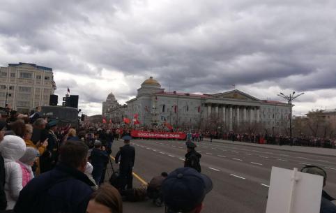 Шествие Бессмертного полка в Чите (фото)